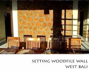 Portfolio Horizontal Setting Woodfile Wall West Bali
